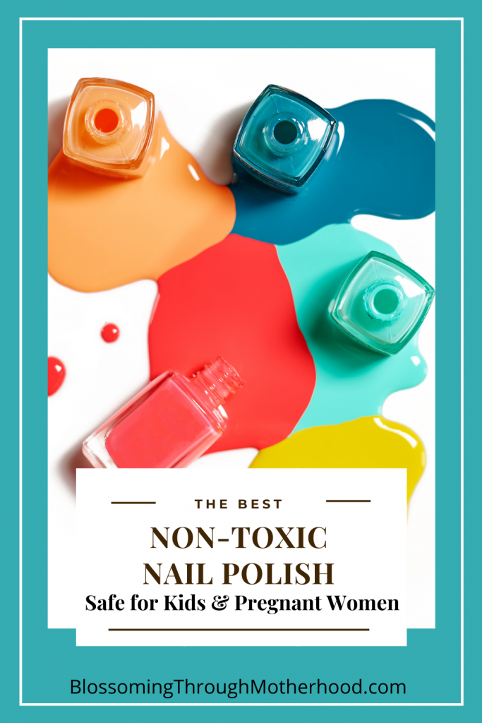 Non-Toxic nail polish review and safe options for pregnant women and children