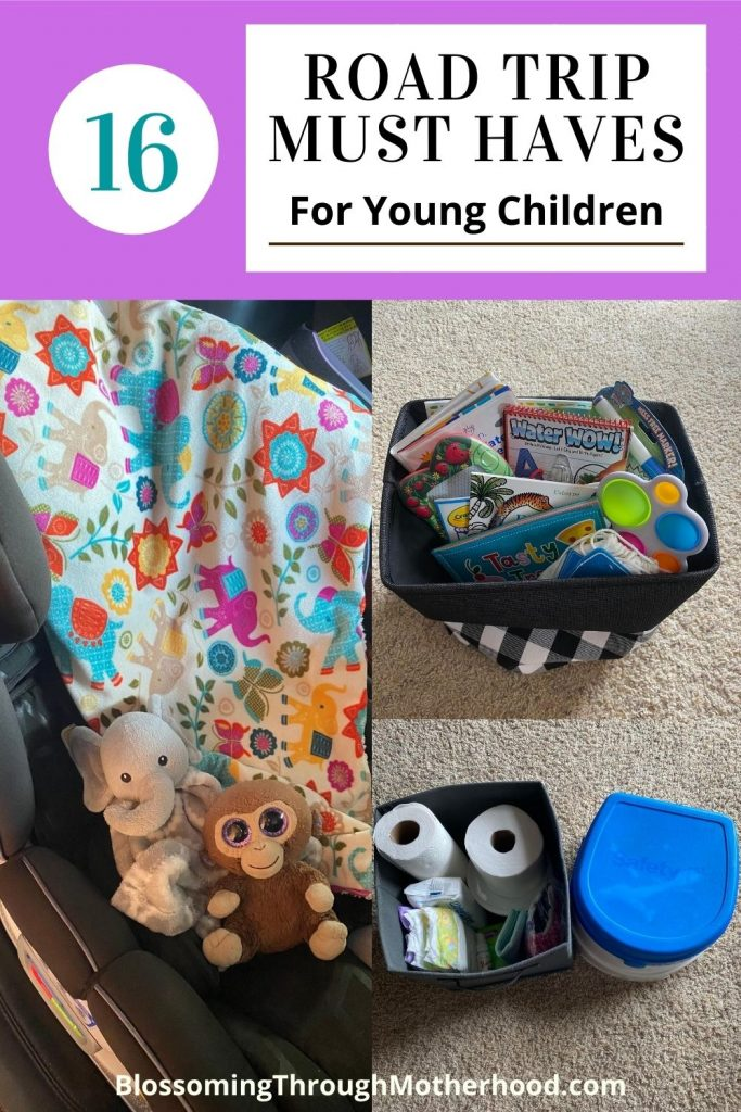 road trip must haves for young children