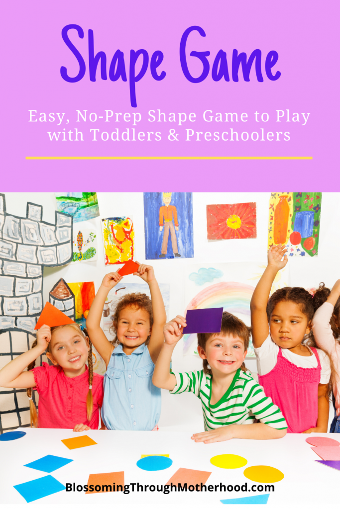 Fun, engaging, no prep game about shapes