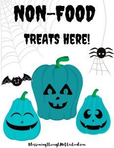 Teal Pumpkin Project Printable