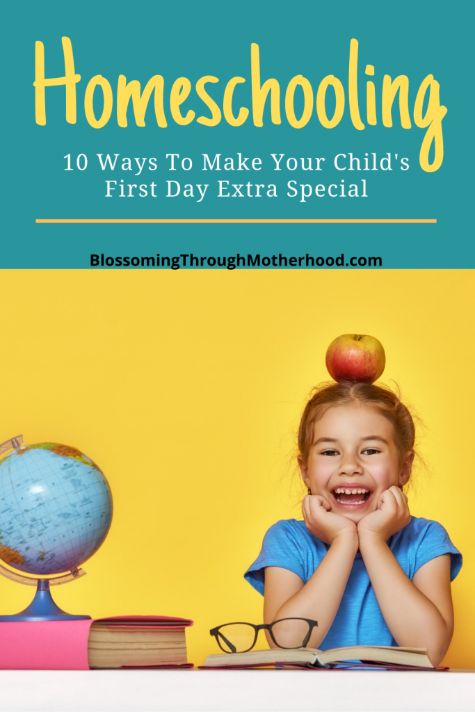 ways to make the first day of school at home special