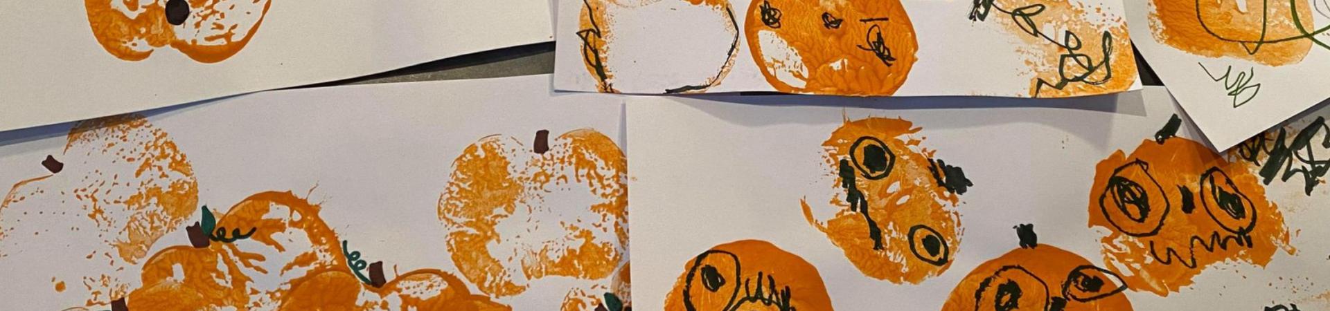 fall painting idea