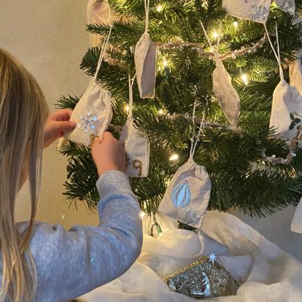 Advent Christmas Tree