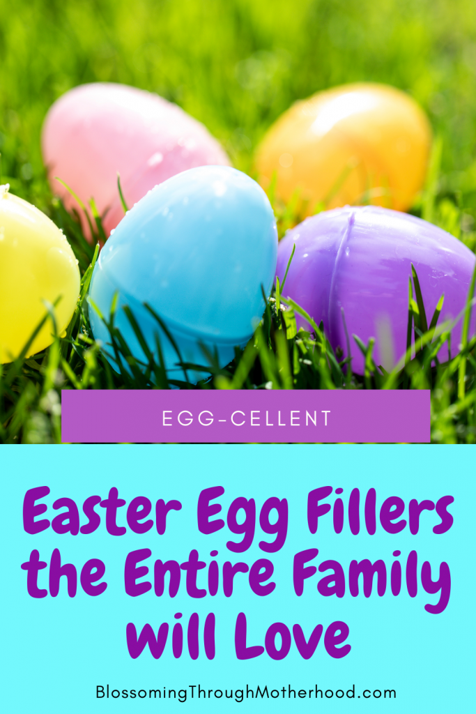 no candy easter egg fillers