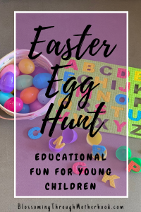 Learn and play with this Easter egg hunt for kids